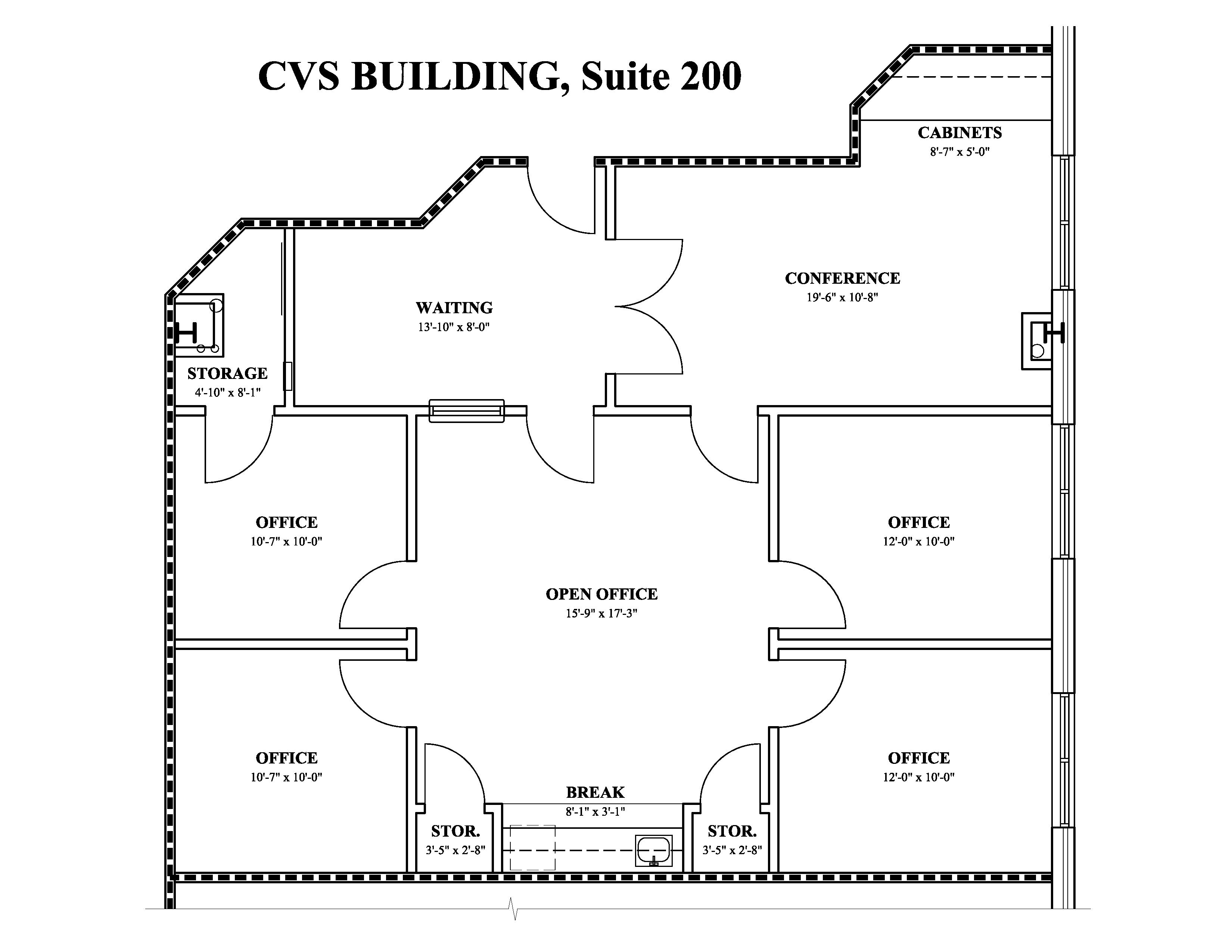 Suite 200 Cvs Pharmacy Building Leased Office Space For